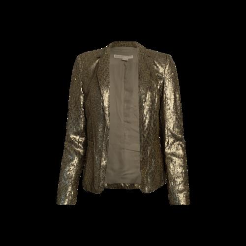 Michael Kors Gold Sequin Blazer