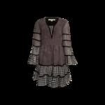 Black Checkered Dress