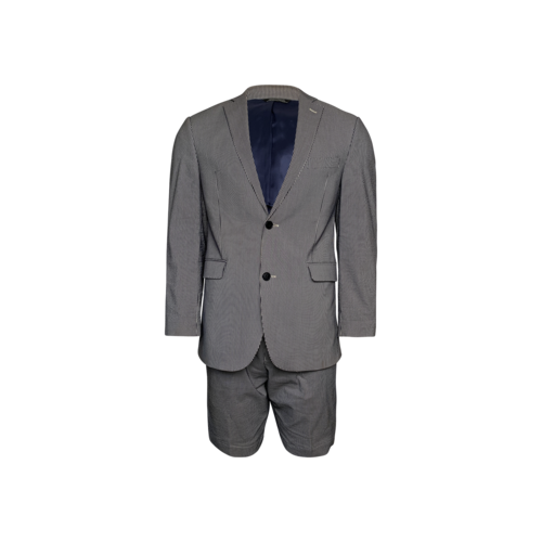 Saks Fifth Avenue Striped Blazer w/ Matching Shorts