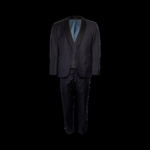 Ben Sherman Three-Piece Navy Tuxedo Suit