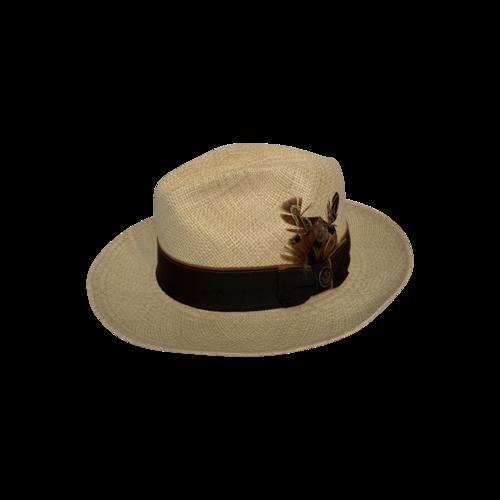 Goorin Bros Beige Authentic Panama Hat