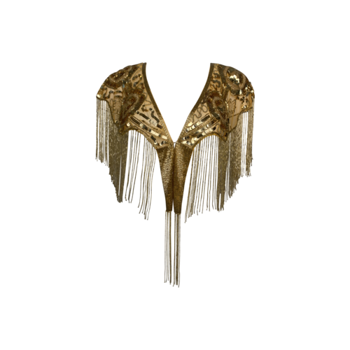 Gold Beaded Shawl