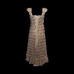 Pixie Sleeveless Sequin Corset Midi Dress