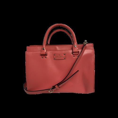 "Kate Spade Pink ""Wellesley"" Durham Bag"