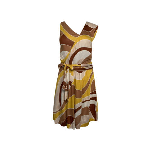 Missoni Multi-Color Open Back Dress