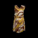 Multi-Color Open Back Dress