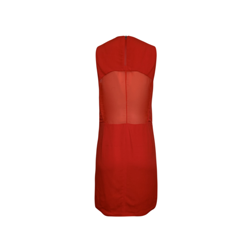 "Red ""Mina"" V Neck Dress"