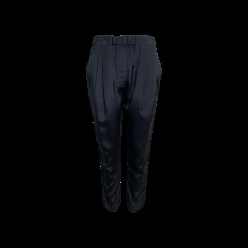 3.1 Phillip Lim Navy Blue Silk Pants