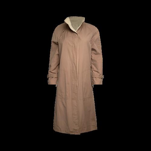 Vintage Brown International Classics Inc Reversible Trench Coat