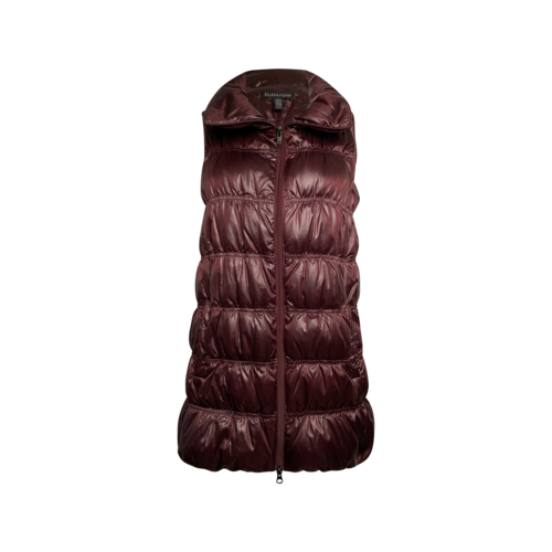 Eileen Fisher Purple Down Puffer Vest