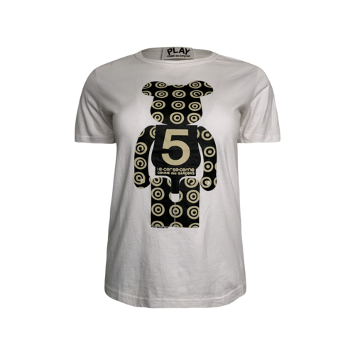 Comme des Garçons White 10 Corso Como Bearbrick T-Shirt