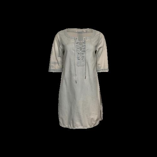 rag & bone Jean Front Lace Up Dress