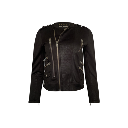 The Kooples Black Soft Moto Jacket