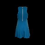 Aqua Blue Side Cut-Outs Dress