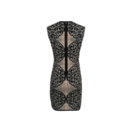 """""""Jose"""" Body Con Dress w/ Gardiniacom Print"""