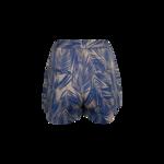 Light Blue Palm Print Shorts