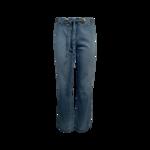 Blue Jeans w/ Grommet Waist Tie