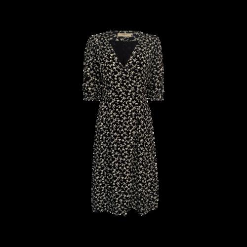 "ba&sh Black ""Coachella"" Floral Print Dress"