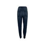 Blue High Waist Ankle Skinny Jeans