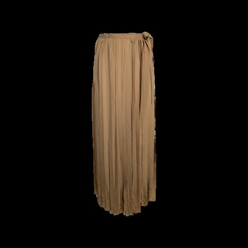 Bevza Beige Fringe Skirt