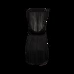 Black Back-Fringe Dress