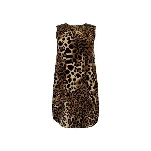 Nanette Lepore Leopard Print Sheath Dress