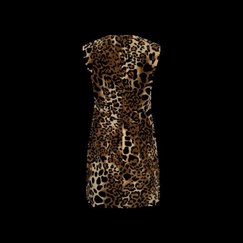Leopard Print Sheath Dress