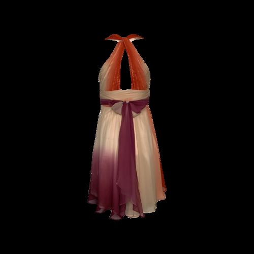 Multi-Color Ombre Dress