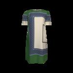"Green ""Mallory"" Print Dress"