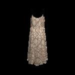 Neopolitan Pink Geometric Maxi Dress