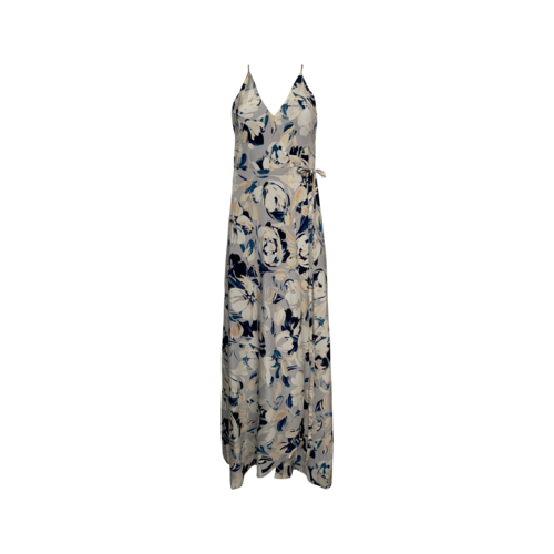 "Yumi Kim Blue Surfer ""Rush Hour"" Maxi Floral Dress"