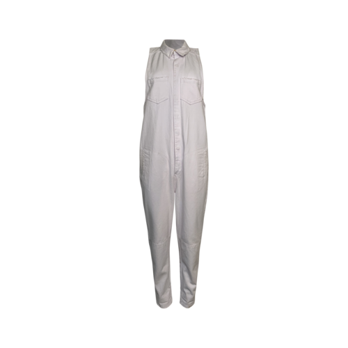 One x One Teaspoon White Denim Jumpsuit
