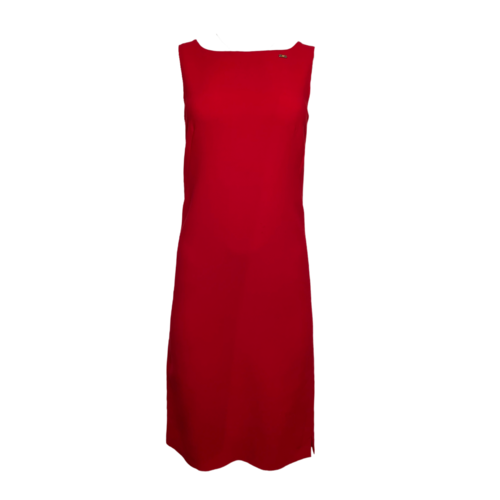 Escada Red Shift Dress