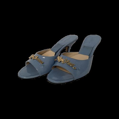 Marc Jacobs Light Blue New York Magazine Edition Mule Sandals