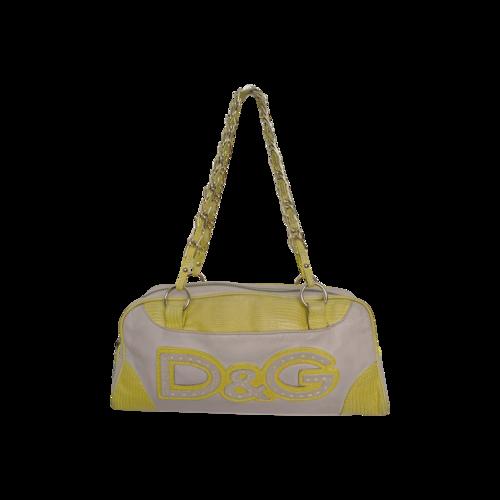 Dolce & Gabbana D&G Logo Shoulder Bag