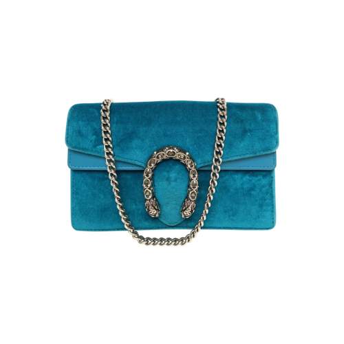Gucci Green Velvet Dionysus Mini Bag