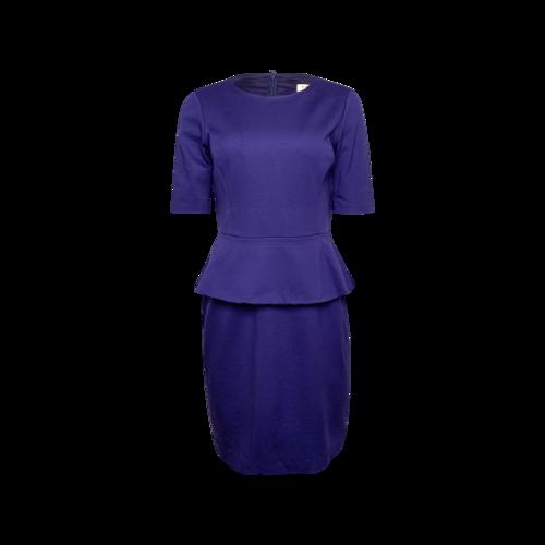 Trina Turk Purple Peplum Sheath Dress