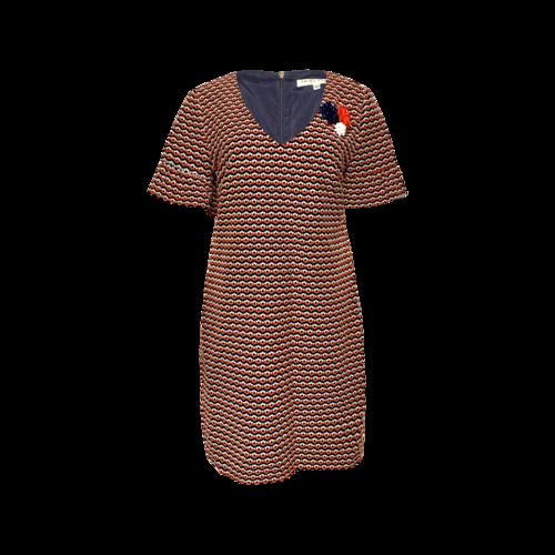 Trina Turk Floral Pattern Shift Dress