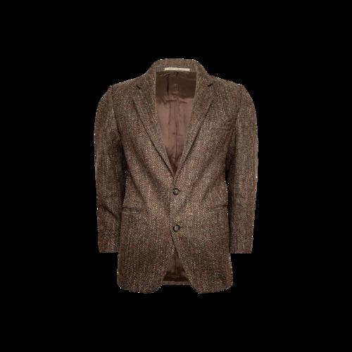 Yves Saint Laurent Brown Tweed Blazer