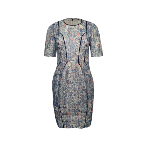 Whistles Multi-Color Floral Embroidered Dress