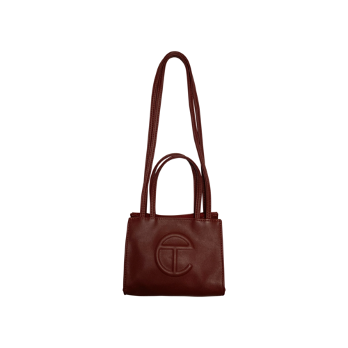 Telfar Red Small Shopping Bag