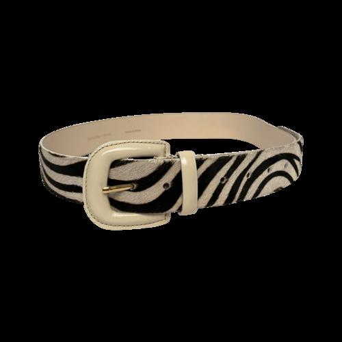 Paloma Wool Zebra Print Belt