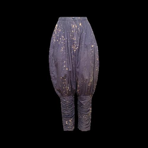 Issey Miyake 80's Tie Dye Harem Trousers