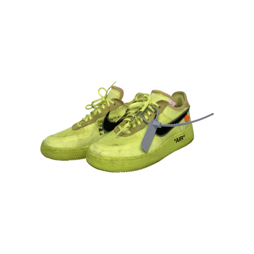 Nike Volt Green Nike Air Force 1 Low Off-White Sneakers