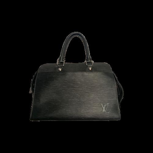 """Louis Vuitton Black Epi """"Riviera"""" Handbag"""