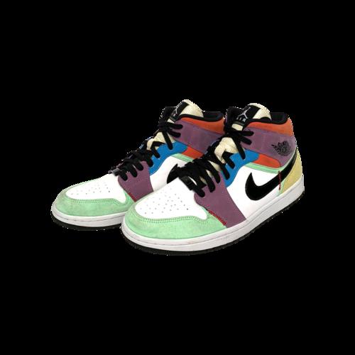 Nike NIKE Air Jordan 1 Mid SE Multi-Color Sneakers