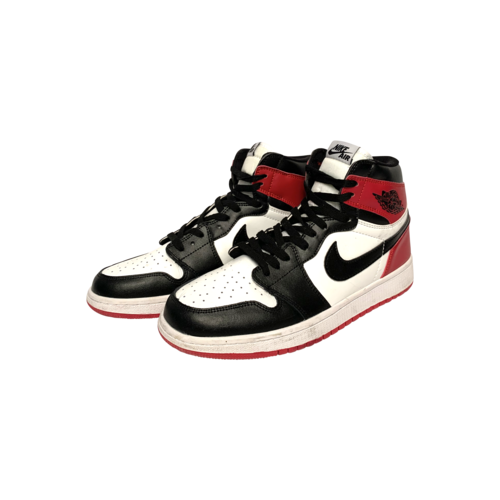NIKE Air Jordan I Retro High Black Toe Sneakers