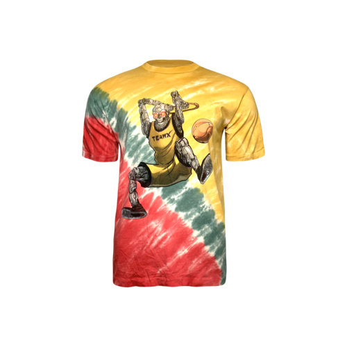 Just Don Dunking Robot Tie Dye T-Shirt