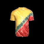Dunking Robot Tie Dye T-Shirt