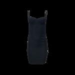 Black Midi Bustier Dress